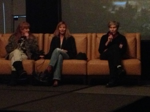 PJ Soles, Dey Young and Mary Woronov rule the Rock n Roll HS panel!