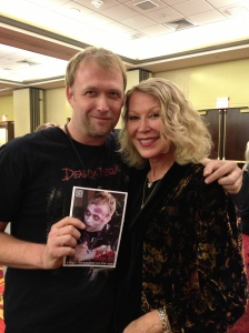 The always classy Leslie Easterbrook shows some truly classy love!