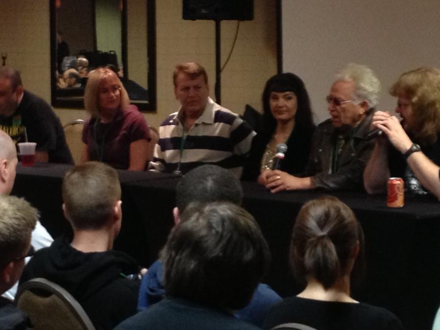 The Slumber Party Massacre Reunion Panel (with Debra DeLiso, Joseph Alan Johnson, Brinke Stevens and Michael Villella)!