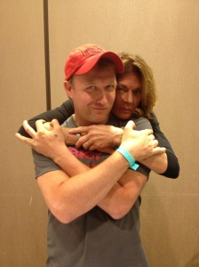 Ending with a little love from the goddess, the super-amazing Meg Foster!