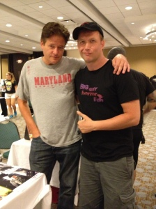 Leveling out the family photos with 'Daddy' Dale Midkiff!