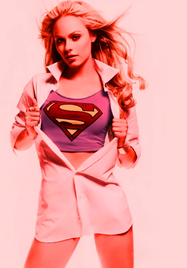 Watch out!! Supergirl sees RED!