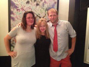 A Wendi, A Linnea and A Big Gay Horror Fan!