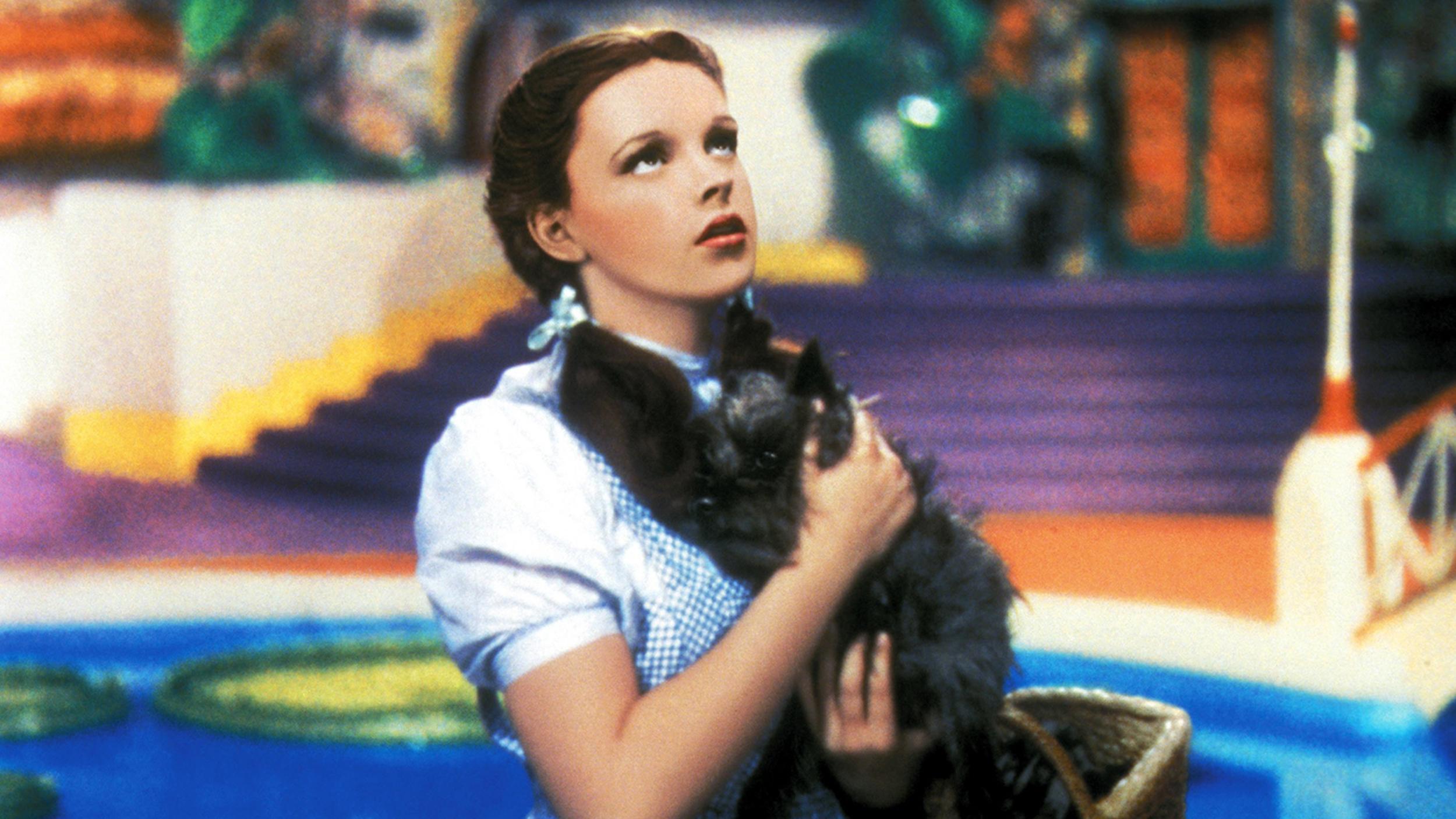 THE WIZARD OF OZ, Judy Garland