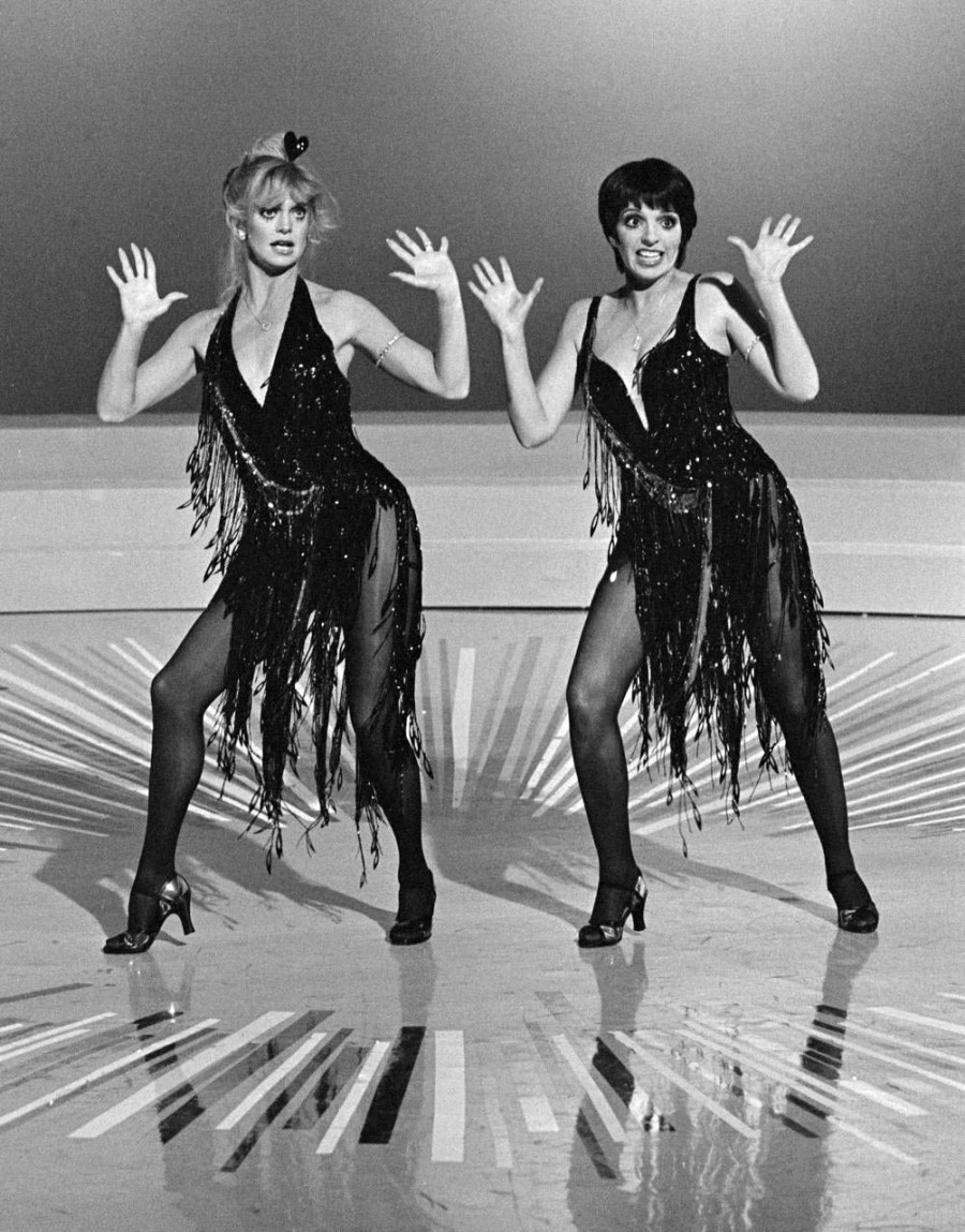 CBS television special 'Goldie and Liza Together,' September 22, 1979