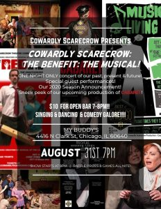 Cowardly Scarecrow Benefit Picture