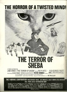 Lana Turner Persecution aka Terror of Sheba