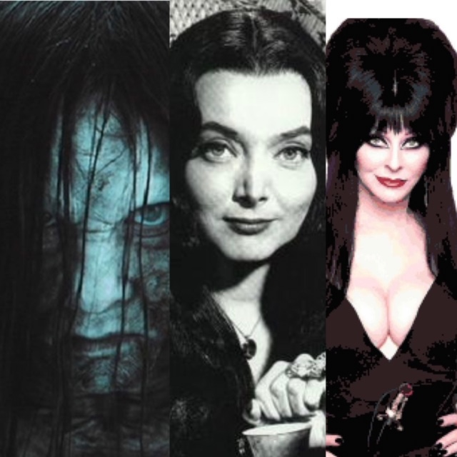Black Wigs in Horror